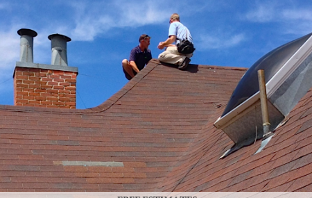 Reliable Roofing Systems got a call about roof leaks from a commercial building owner downtownColorado Springs. Here's Shane meeting with an insurance agent on behalf of a downtown customer. This customer suffered significant roof damage as a result of our recent hail storm, and we are walking them through the process of getting the roof […]