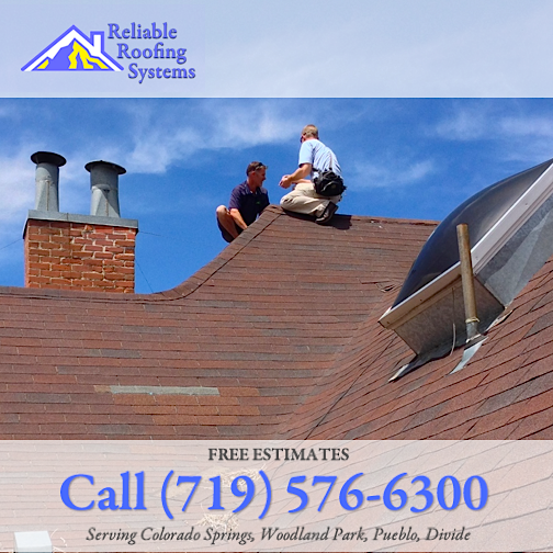 roofing company colorado springs woodland park hail storm repair