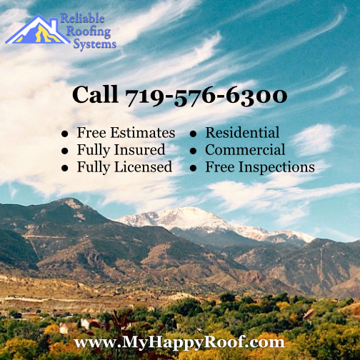 best roofing in colorado springs woodland park roof repair