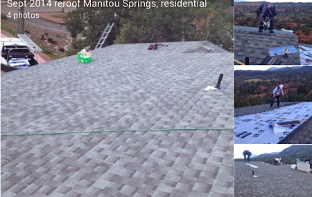 roofing repair shingles colorado springs roof leaks