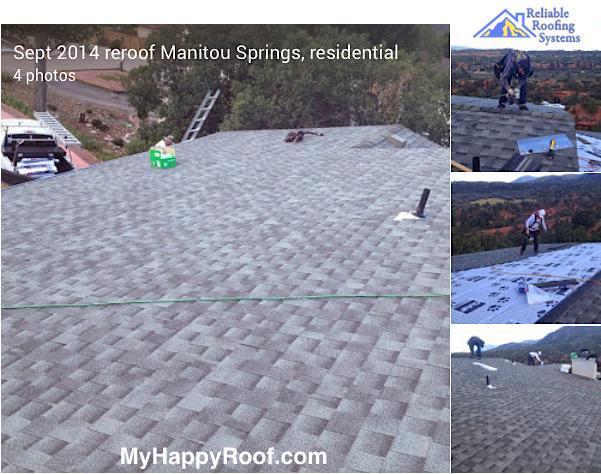 roofing repair shingles colorado springs roof leaks