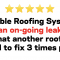 Colorado Springs Roof Leak Review - 5 Stars for Reliable Roofing Systems